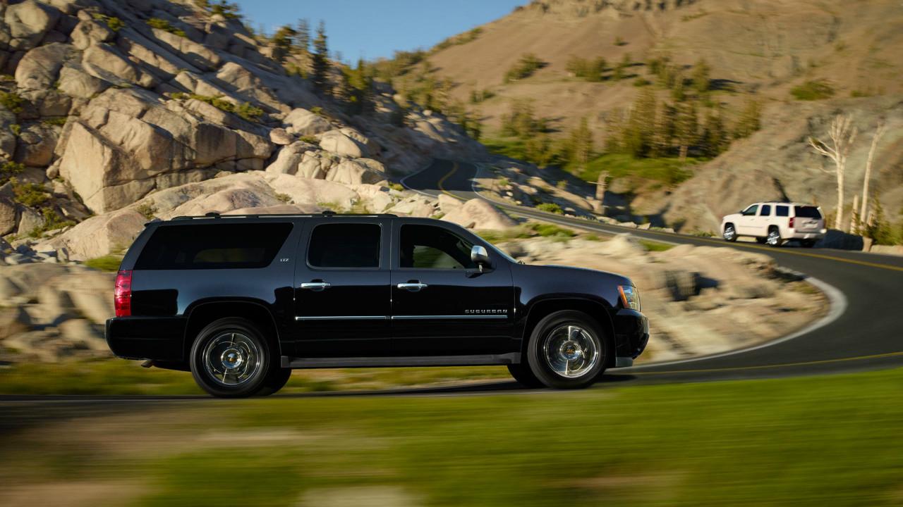 suburban 雪弗兰全尺寸suv雪佛兰较车是哪个国家的 它有多高清图片