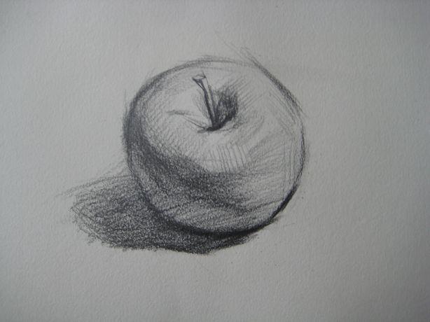 素描苹果怎么画图片_素描苹果怎么画图片下载图片