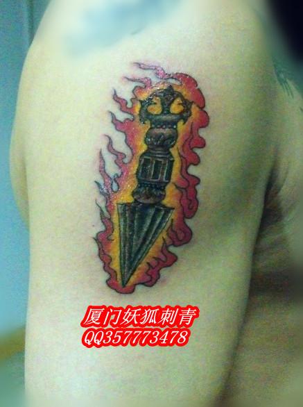 纹身 刺青 佛教法器纹身