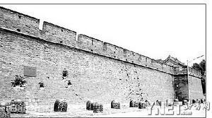 曾经受到日军重创的宛平城