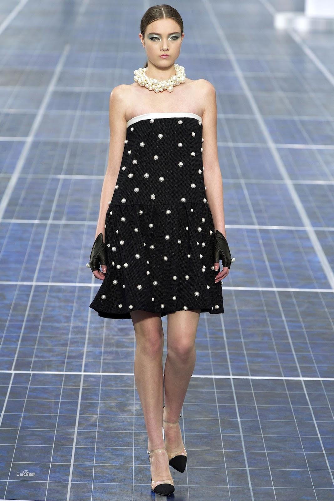 Chanel 2013春夏时装秀