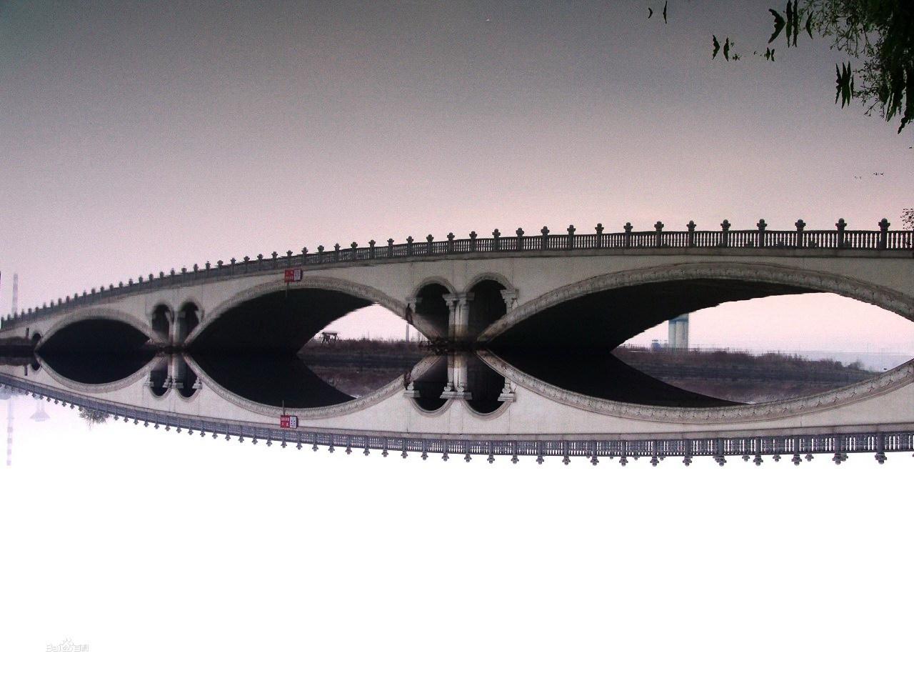 建筑桥的图片