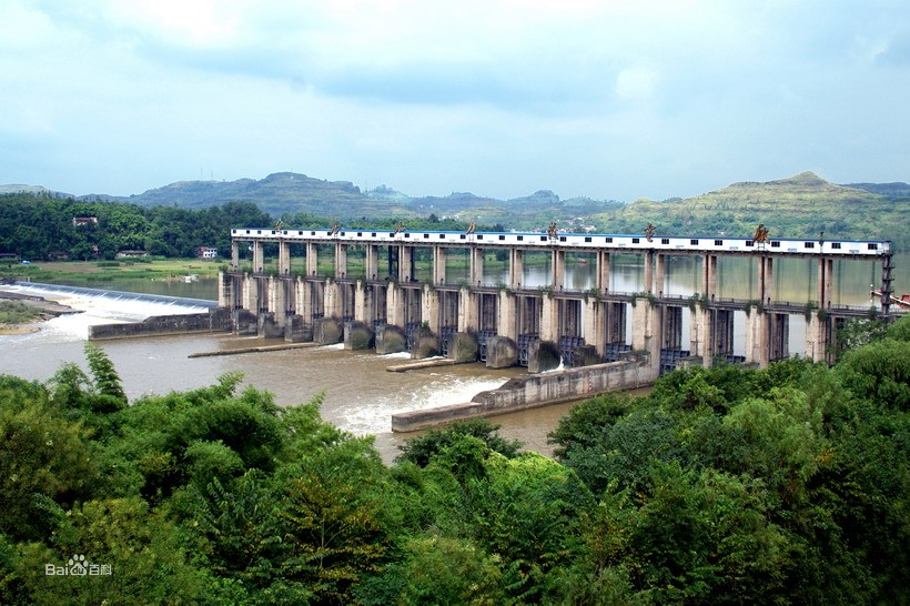 安居水电站