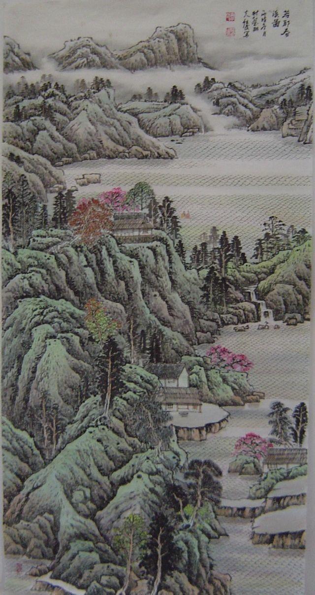 韦纯武,1957年生.现代画家,学者.河南扶沟人.图片