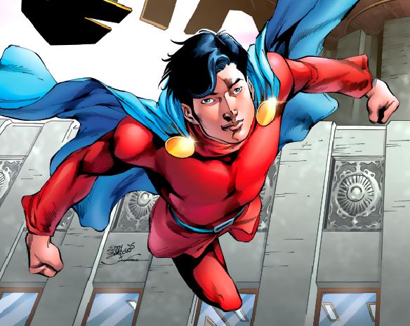 虽然他是达星人,但他最常使用的英雄代号是一个氪星名:蒙-艾尔(mon-el