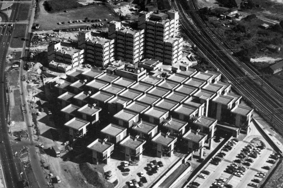 瑞典,丹麦和挪威的一些建筑师都曾追随结构主义的设计理念.图片