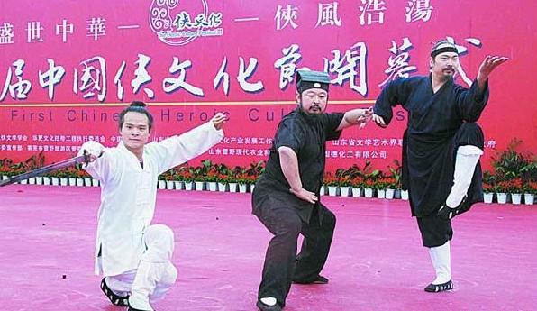 中国侠文化源远流长,既有止戈为武的理想,又有人性圆融的侠情义气图片