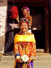 嘉绒藏族少女成年礼