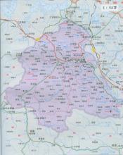 谷城县地图