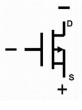 p沟道mos管符号