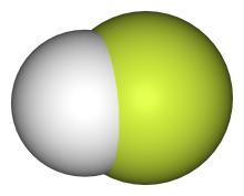 HF分子模型