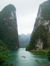 三峡旅游区壮观景色