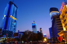 济南市区景色