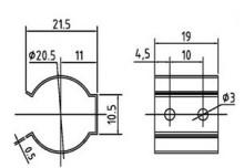 利用气动,电动,手动或者液动等驱动方式挤压套管,达到开关/调节的作用图片