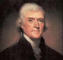 托马斯·杰斐逊个人画像