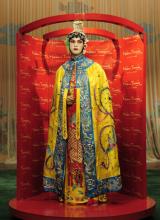 武汉杜莎夫人蜡像馆展出蜡像