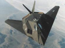 F-117隐身攻击机