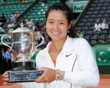 李娜2011年法网夺冠