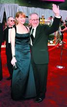 史蒂文・斯皮尔伯格和妻子凯特・卡普肖
