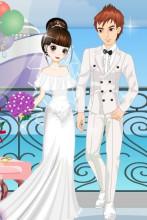 春天的浪漫婚礼