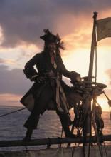 《加勒比海盗》饰 杰克船长