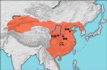 各版西汉疆域图