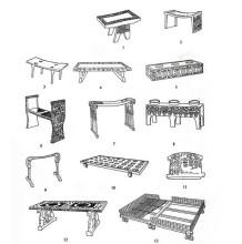 古代时候的家具