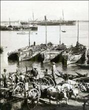 解放前的汉口码头