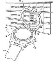 谷歌智能手表专利图