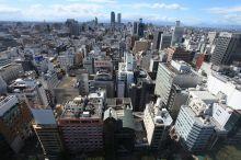 繁华的名古屋市中心