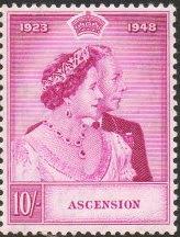 阿森松岛邮票与货币