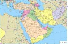 中东的国家与地区