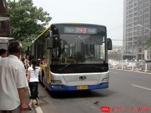 743路BK6160K型客车。