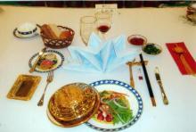 中餐宴会摆台|4|28图片