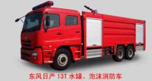 东风日产柴水罐消防车相关图片