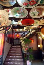 秦风汉月油纸伞