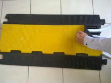 橡胶过线板