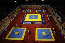 跆拳道比赛场地