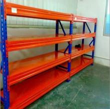 图册图片为各种类型的仓储货架