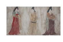 李国选壁画作品