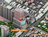 广州十三行三维地图