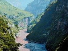 大渡河金口大峡谷