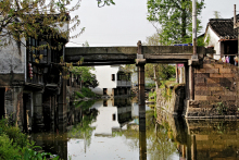 homepage 24/7 news the ancient town of luzhong has more than 1