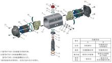 根据用户需求,气动执行器可装置成与标准型相反的传动原理,即选准轴顺图片