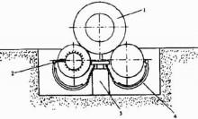 气压式升降机如下图所示,它是由电磁阀,气动控制阀及双向汽缸或橡胶图片