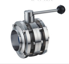 卫生级气动隔膜阀,不锈钢卫生级u型管隔膜阀 不锈钢卫生级,乳品球阀图片