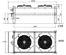 1风冷冷凝器原理编辑 对某些应用来说,气体必须通过一根长长的管子图片