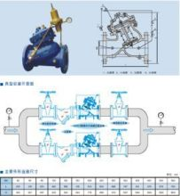 yx741x隔膜可调式减压稳压阀是一种用于消防用水与生活用水并联的图片