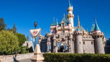 加州迪士尼乐园城堡图