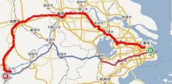 k83次列车运线路图